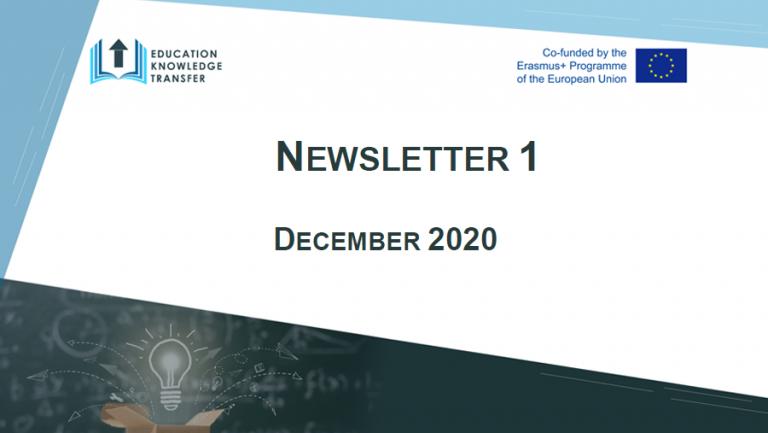 EKT Newsletter 1